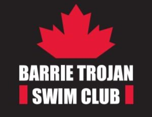 Barrie Trojan Swim Club Logo