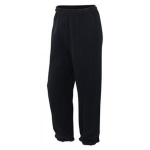 Gildan Black Jogging Pants